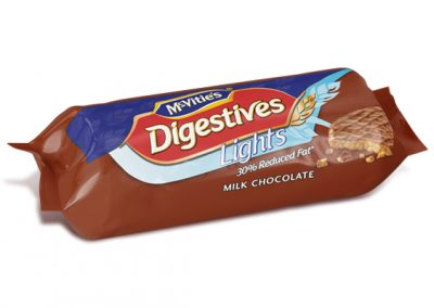 McVitie's Digestive Light Milk Chocolate 300g