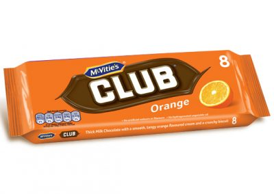 McVitie's Club Orange 8×23,5g