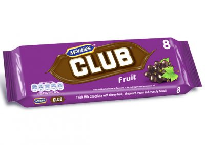 McVitie's Club Fruit 8×23,5g