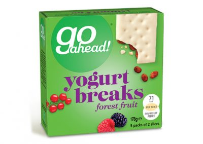 Go Ahead Yogurt Breaks Forest Fruit 5×35,5g
