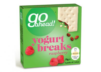 Go Ahead Yogurt Breaks Raspberry 5×35,5g