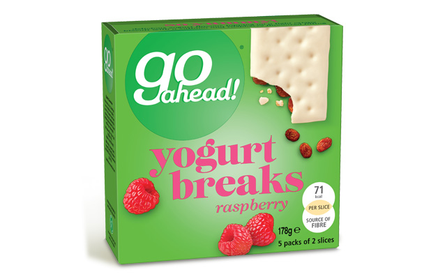 Go Ahead Yogurt Breaks Raspberry 5x35,5g