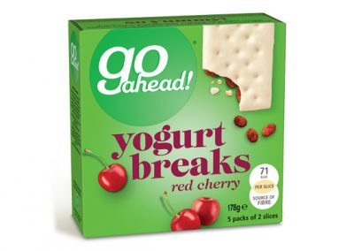 Go Ahead Yogurt Breaks Red Cherry 5×35,5g