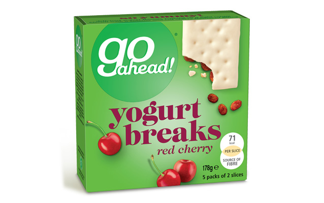 GoAhead Yogurt Breaks Red Cherry 5x35,5g