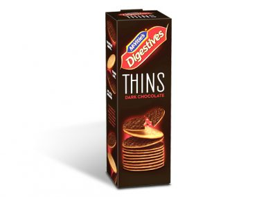 McVitie's Digestives Thins Dark Chocolate 180g
