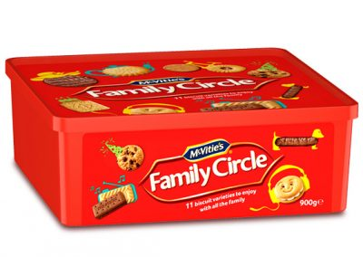 McVitie's Family Circle Tub 900g