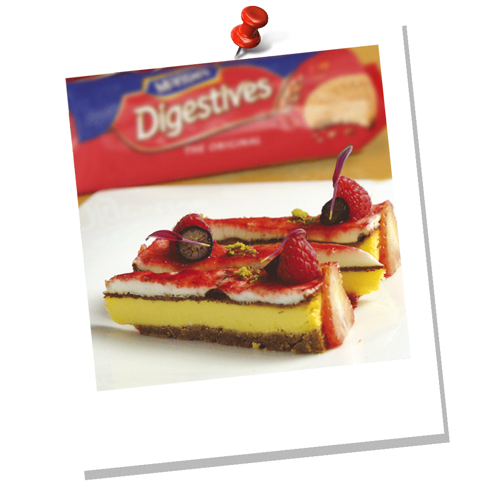 DIGESTIVE ORIGINAL CHEESECAKE BY FABIO BALDASSARRE
