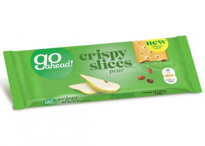 GoAhead Crispy Slices Pear 6×41,3g