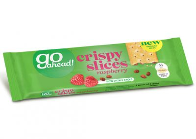 GoAhead Crispy Slices Raspberry 261,6g