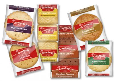 Crawford's Minipacks assorted