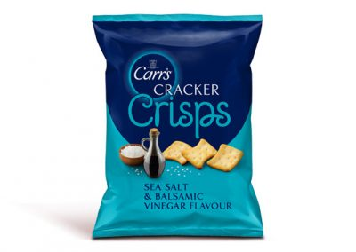Carr's Cracker Crisps Sea Salt & Balsamic Vinegar 150g