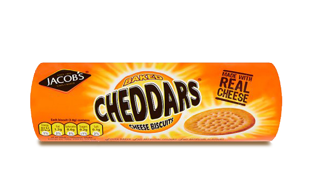 Jacob's Cheddars 150g