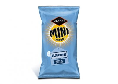Jacob's Mini Cheddars Blue Cheese 25g