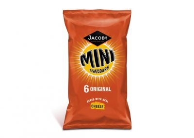 Jacob's Mini Cheddars Original 25g