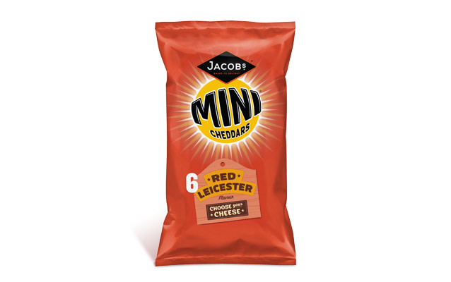 Jacob's Mini Cheddars Red Leicester 25g
