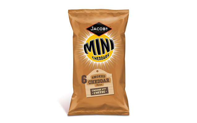 Jacob's Mini Cheddars Smoked Cheddar 25g