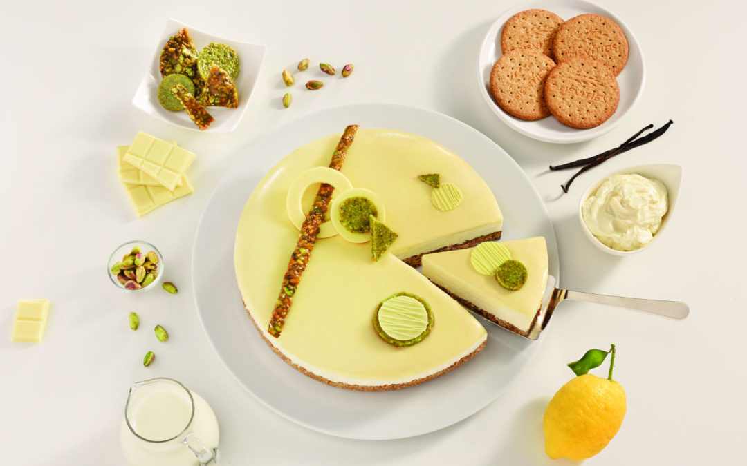 White Chocolate and Pistachio Cheesecake