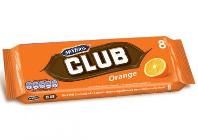 McVitie's Club Orange 8×23,5g