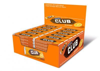 McVitie's Club Orange display 60×23,5g