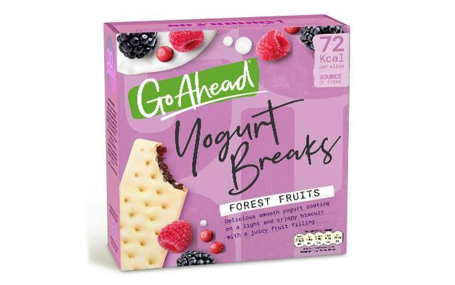 Go Ahead Yogurt Breaks Forest Fruit 5×35,5g