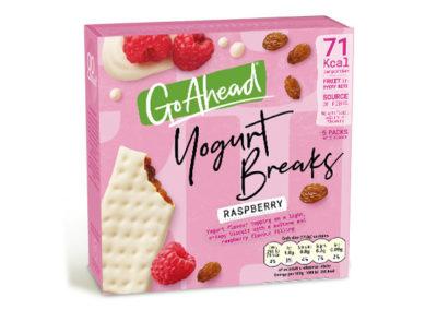 Go Ahead Yogurt Breaks Raspberry 5×35,5g