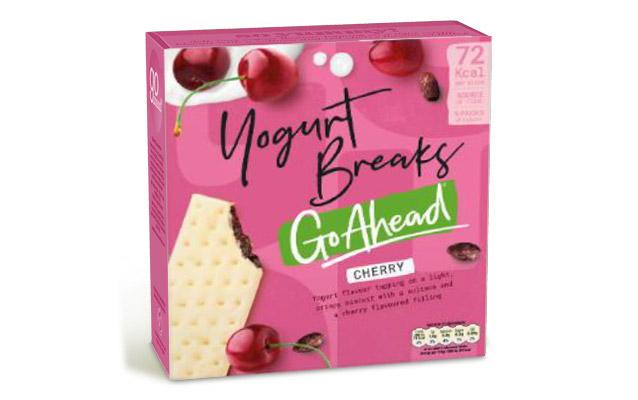 Go Ahead Yogurt Breaks Red Cherry 5×35,5g