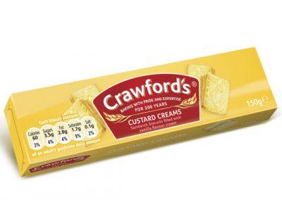 Crawford's Custard Creams 150g