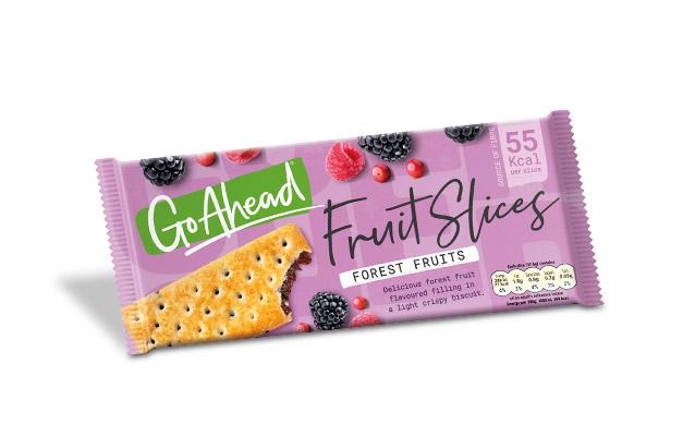 GoAhead Fruit Slices Forest Fruit  261,6g