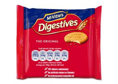 McVitie's Original Digestive Twinpack 2×14,8g