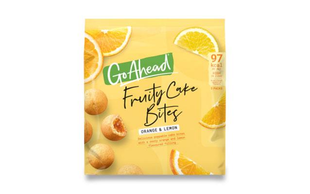 Go Ahead! Fruity Cake Bites Orange&Lemon 5×26,4g