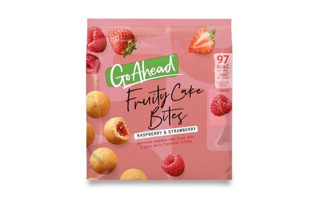 Go Ahead! Fruity Cake Bites Raspberry&Strawberry 5×26,4g