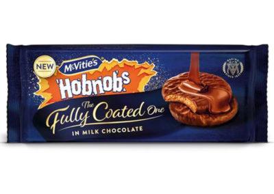 McVitie's Hobnobs Milk Chocolate Fully Coated 149g
