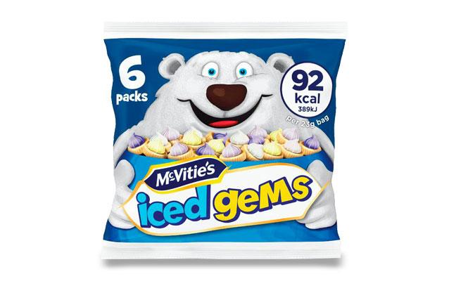 McVitie's Iced Gems 6x23g