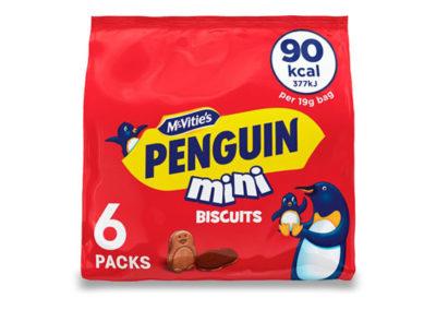 McVitie's Penguin Mini 6x19g